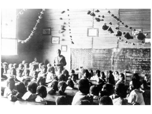 Separate but not so Equal Virginia school 1950's