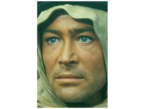 Peter O'Toole as T.E. Lawrence in Lawrence of Arabia