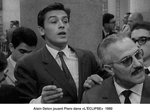 Alain Delon stockmarket L'Eclise